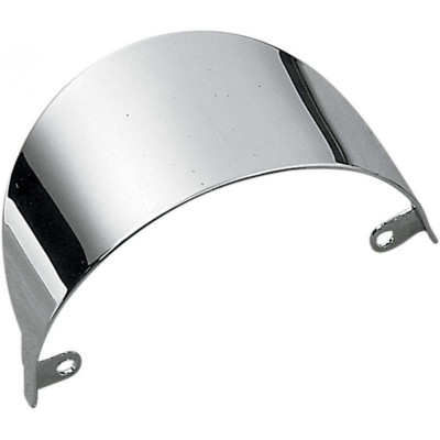 Front Turn Signal Visor Chrome
