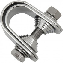 """Clamp Assembly 1""""-1.25"""" Chrome"""