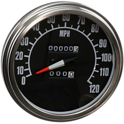 Fl Speedometer 2240:60 W/ Reed Switch 68-84 Face