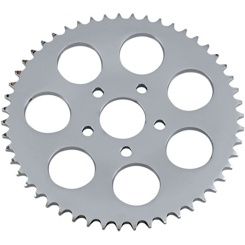 Rear Chain Sprocket Dished 51t Steel/chrome