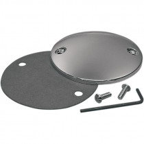 Point Cover Domed Chrome