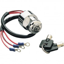 Ignition Switch W/ Round Key Off/ign/ign+light-position