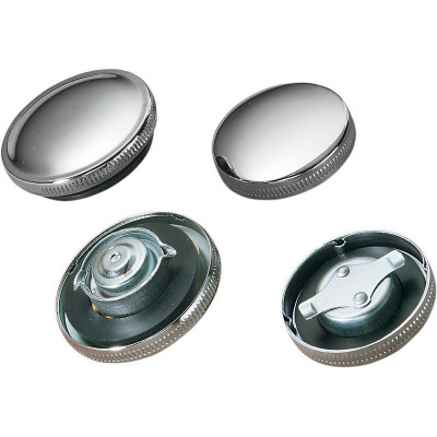 Replacement Gas Cap Non-vented Chrome