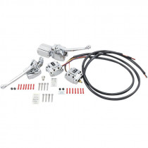 Handlebar Control Kits With Switches Chrome
