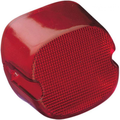 Taillight Laydown Red Lens W/ Bottom Taglight Hd 84-98