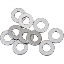 """Flat Washer 0.46875""""i.d. 0.125"""" Thickness Chrome"""