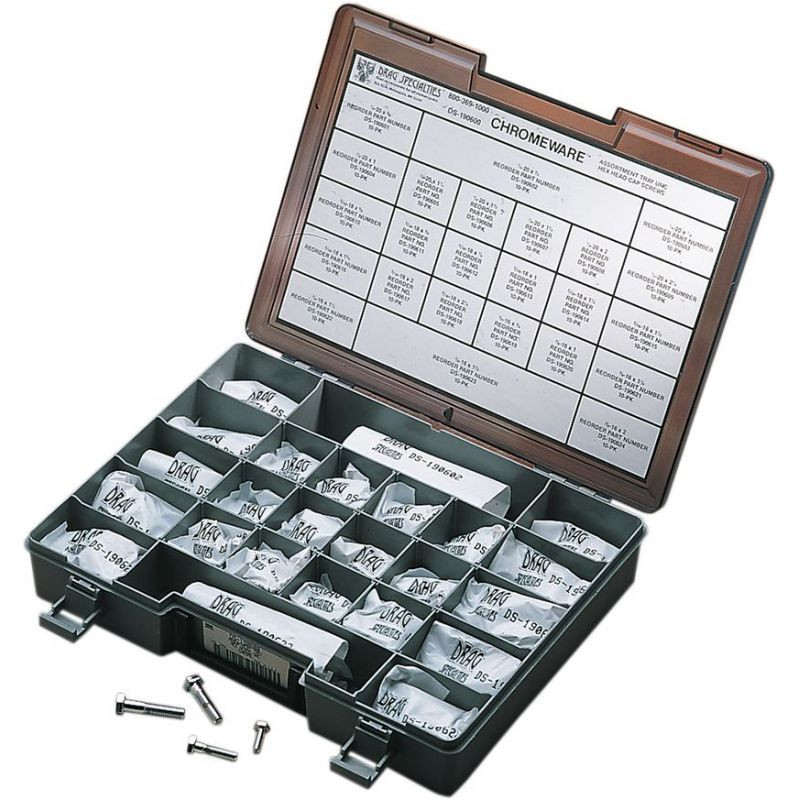 Hex-head Bolt Assortment Unc Chrome