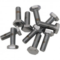 Hex-head Bolt 1/4-28x0.875 Chrome