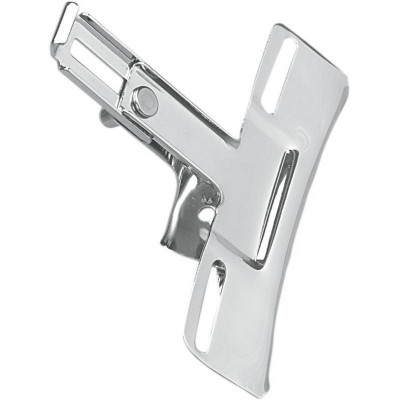 Replacement License Plate Bracket Adjustable Chrome
