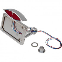 Taillight Led Deco W/ Horizontal Side-mount License Plate