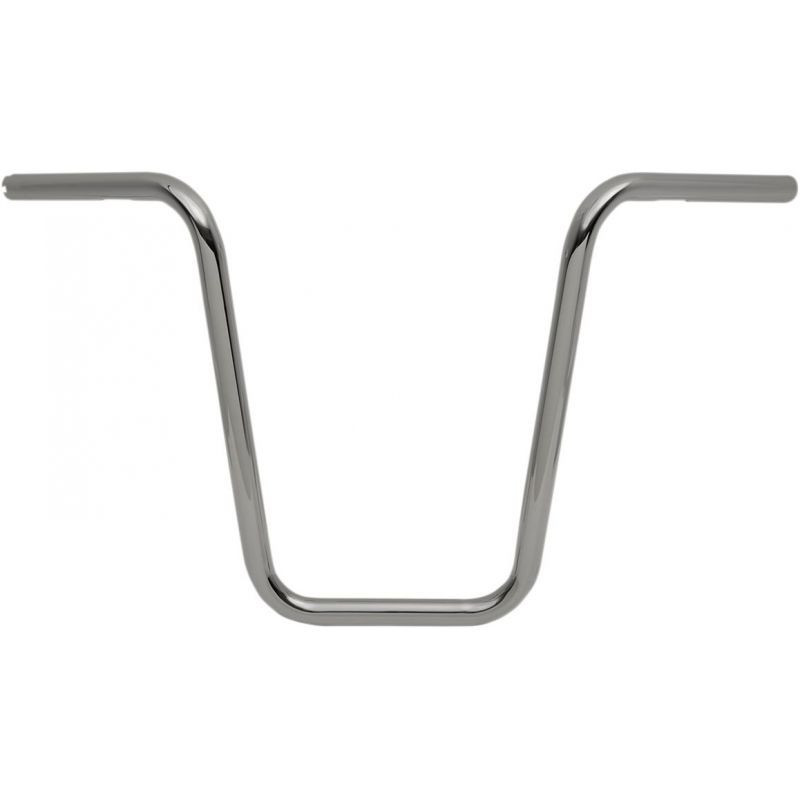 "Guidon Ape Hanger Narrow Ø 1"" Hauteur 16"" Chromé"