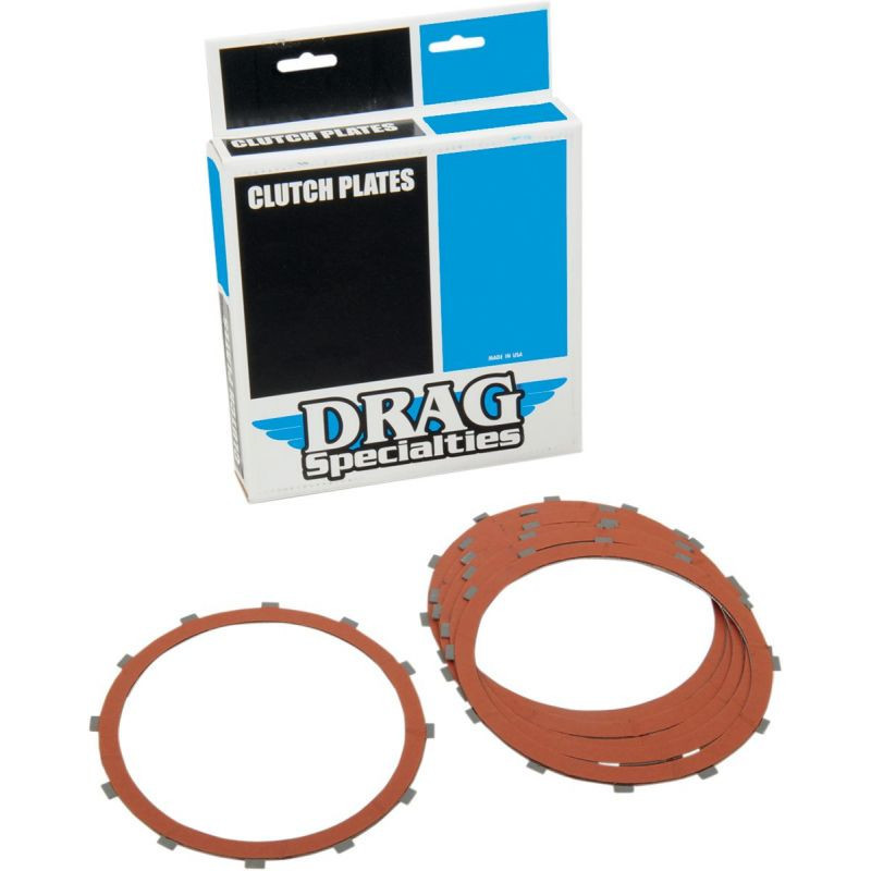 Kit Disques Garnis d'Embrayage Organique Dyna, Softail, Touring 84/89