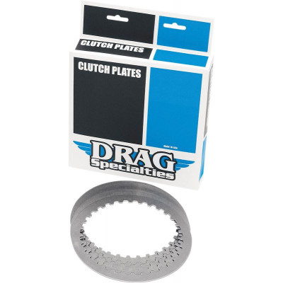 Kit Disques Lisses d'Embrayage Acier Dyna, Softail, Touring 98/17