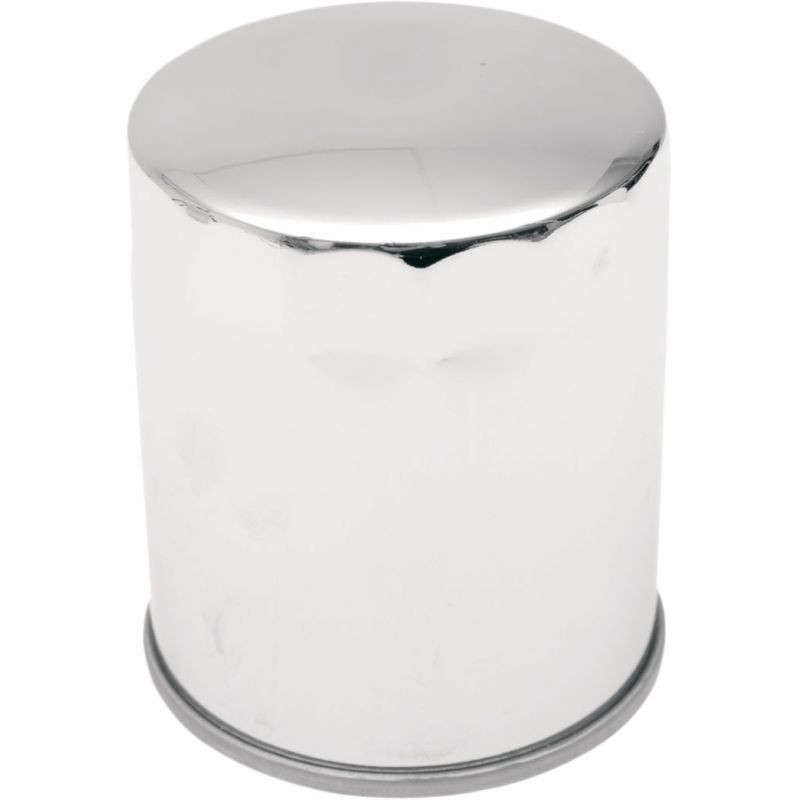 """Spin-on Oil Filter W/ Magnetic Ring Chrome 3.25"""""""
