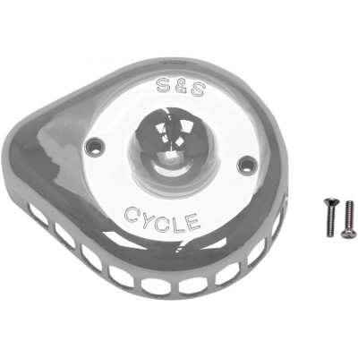 Cache Filtre à Air S&S Mini Tear Drop Chromé Softail, Sportster, Touring, Trike