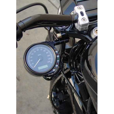 653423 SUPPORT DE COMPTEUR LATERAL JOKER 49 MM HARLEY DYNA