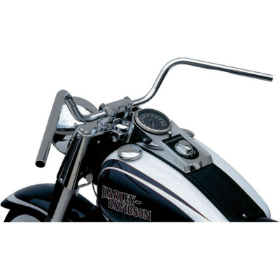 Handlebar Mystic High Steel 25.4 Chrome Plated, Cable Indent