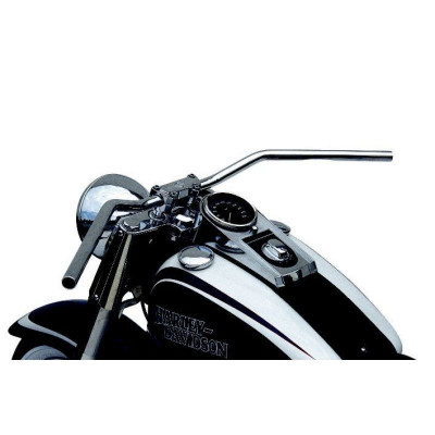 Handlebar Flyerbar Steel 25.4 Chrome Plated, Cable Openings
