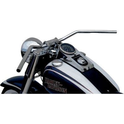 Handlebar Flyerbar Steel 25.4 Chrome Plated, Cable Indent