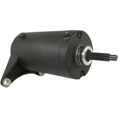 Oem Replacement Starter / Black / Victory