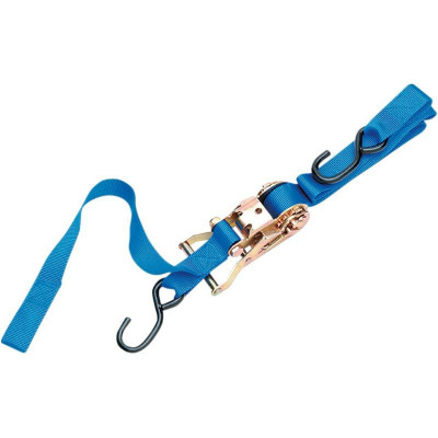 Heavy-duty Ratcheting Tie-down With Built-in Assist Blue