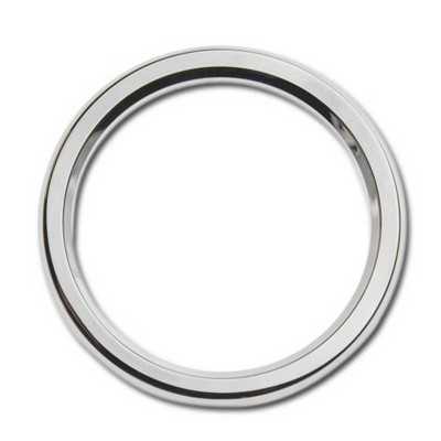 "Entourage de Jauge Bezel 3-5/8"" Smooth Chromé Touring"