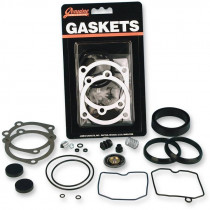 Kit Reparation Carburateur James Gaskets Dyna, Softail, Touring, Sportster