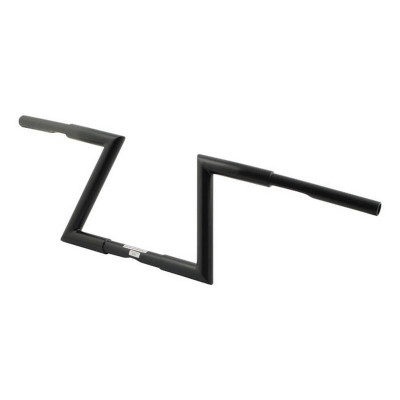 "Guidon Z-Bar Hollister Fehling 1-3/16"" Hauteur 9"" Noir"
