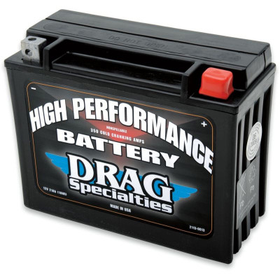 Battery High Performance Agm 12v Lead Acid Replacement 205 Mm X 87 Mm X 162 Mm Black
