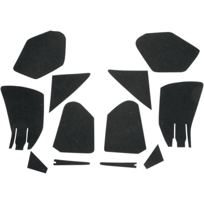 Fairing Pocket Lining Kit Road Glide (fltr) Fairing Black
