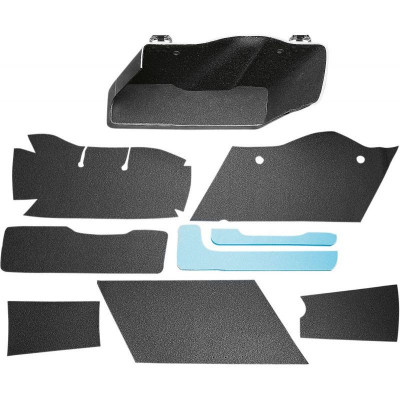 Liner Saddlebag Textile Black