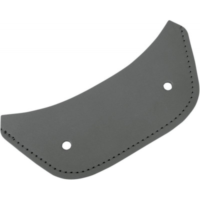 Fender Protector Leather Fender Chap Rear Plain Leather Black