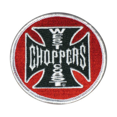 ECUSSON / PATCH WEST COAST CHOPPERS TANK LOGO