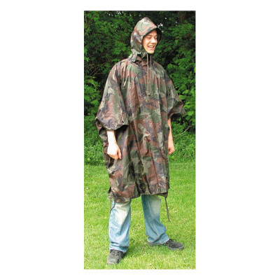 Poncho Indéchirable Camouflage