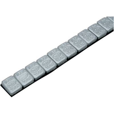 Motion Pro Wheel Weights 1/8 Oz Steel Silver 144 Pieces