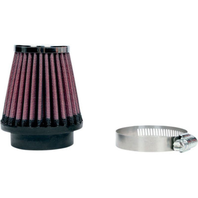 Air Filter Clamp-on 49mm Round Tapered