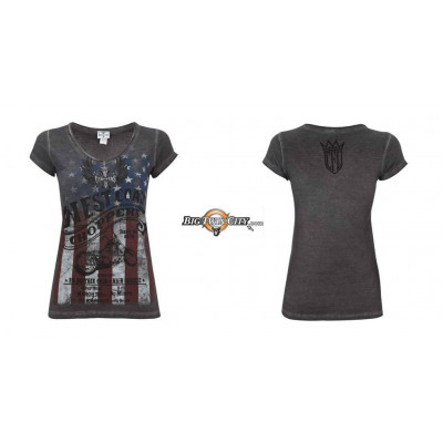 "TEE-SHIRT WEST COAST CHOPPERS "" AMERICAN PRIDE """